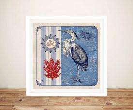 Sea Bird lV - Studio Mousseau Canvas Wall Art