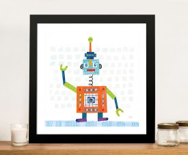 Robot Party III Wall Art