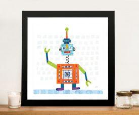 Robot Party III Wall Art