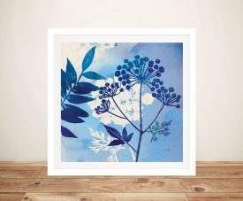 Blue Sky Garden ll Cheap Canvas Prints