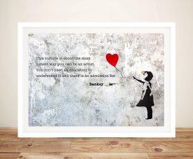 Balloon Girl - Banksy Pop Art
