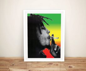 Bob Marley Framed Picture Photo Prints