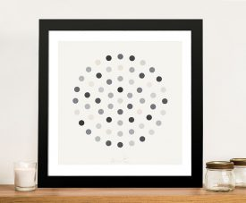 Cinchonidine Damien Hirst Framed Wall Art Picture Australia