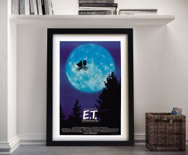 E.T Original Movie Poster Pop Art Online