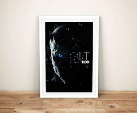 Game of Thrones - The Night King Poster Art