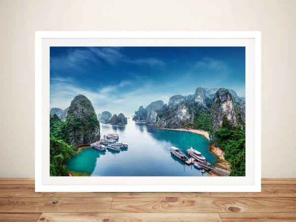 Ha Long Bay - Vietnam Canvas Photo Printing