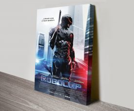 Robocop 2014 Movie Poster Canvas Printing