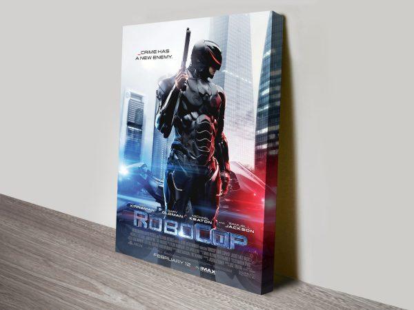 Robocop 2014 Movie Poster Canvas Printing