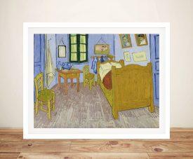 Van Gogh's Bedoom In Arles Canvas Wall Art