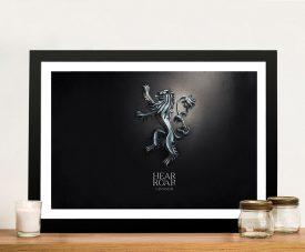 GoT - Hear Me Roar Wall Art