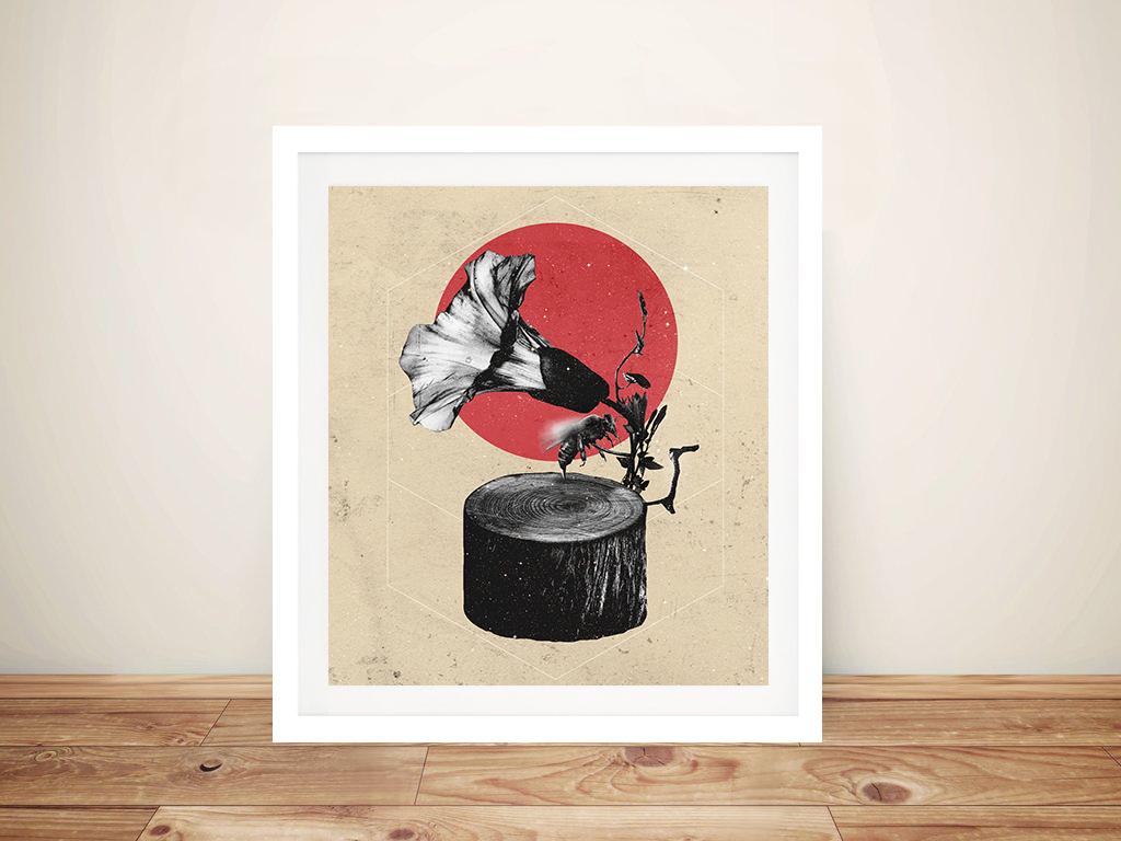 Ali Gulec - Gramophone Canvas Artwork | Discount Canvas Prints ...