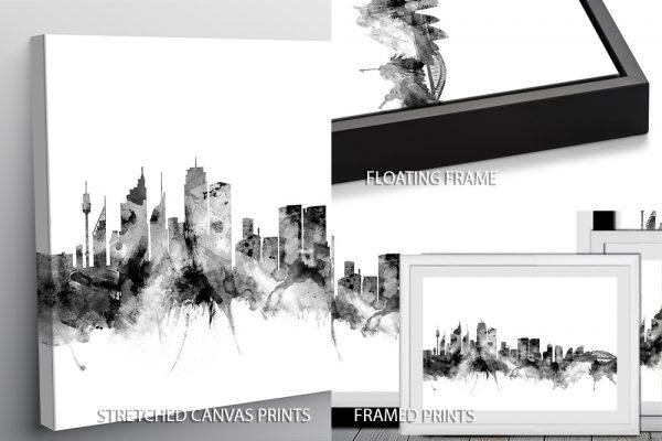 Sydney Skyline Quality Print