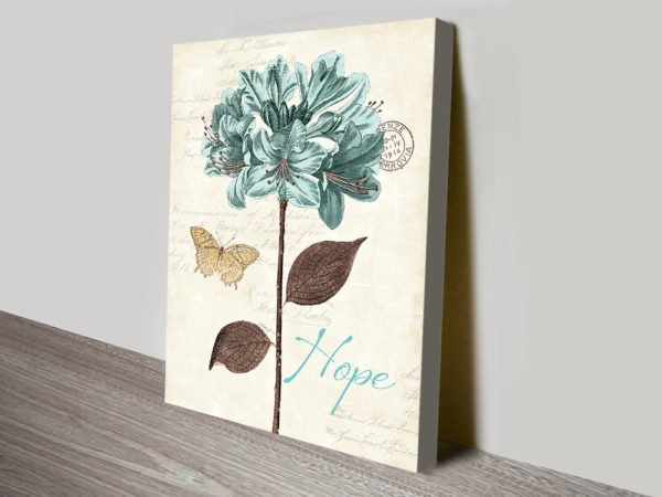 Buy The Ideal Gift With This Appealing Floral Canvas Art