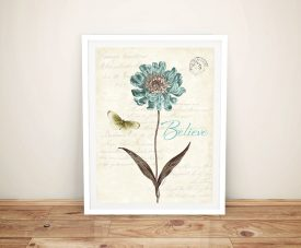 Slated Blue lV - Katie Pertiet Canvas Wall Art Online