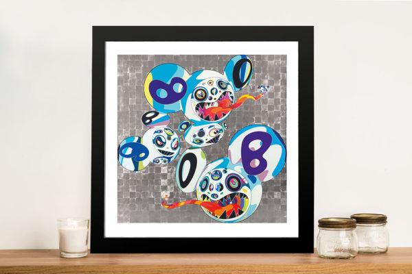 Melting DOB Complex Blue - Takashi Murakami Street Art Prints Online