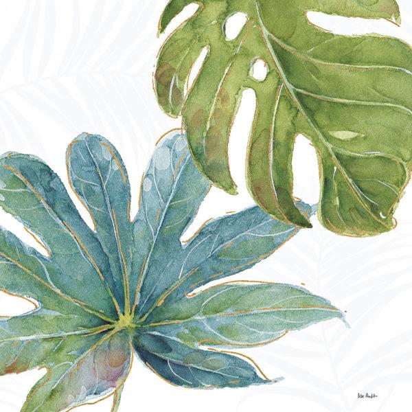 Mesmerising Tropical Leaves Canvas Prints