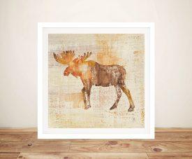Moose Study - Studio Moussea Best Canvas Prints