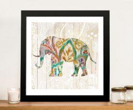 Boho Paisley Elephant ll - Danhui Nai Great Gift Ideas