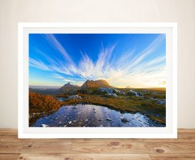 Cradle Mountain - Tasmania Photo To Canvas