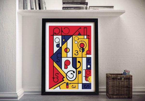 Futuracha - Mondrian Artwork l Best Prints Online