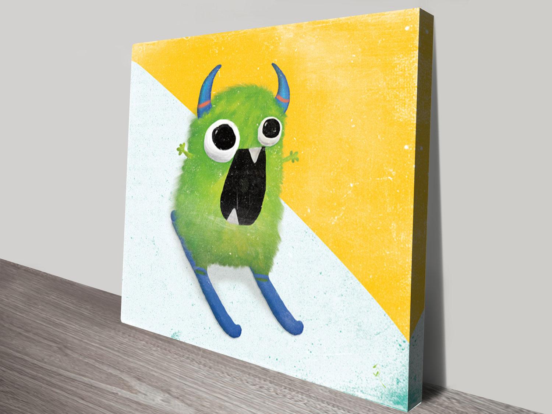 Xtreme Monsters ll Canvas Wall Art   Kids Pop Art Bridgewater ...