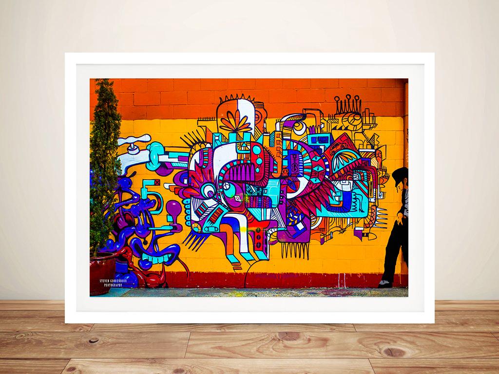 Smooth Criminal Graffiti Wall Art Prints Photo Canvas Printing Wall Art Adelaide Australia