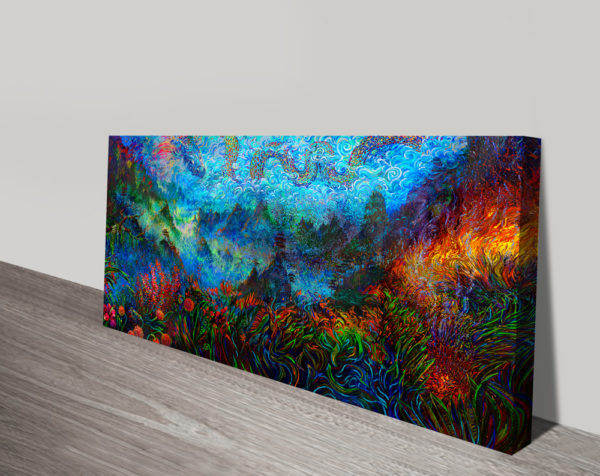 Absolutely Stunning Canvas Wall Art With Dragon