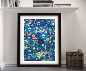 An Homage To ikb 1957 - Takashi Murakami Best Prints Online