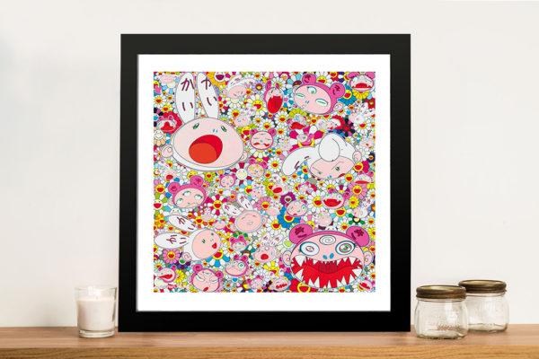 New Day Kaikai & Kiki Faces All Over Canvas Great Gift Ideas