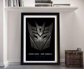 Transformers Framed Wall Art
