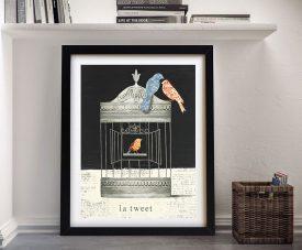 La Tweet - Emily Adams Cheap Canvas Prints