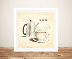 Parisian Coffee l - Emily Adams Wall Art Online