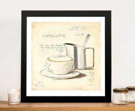 Parisian Coffee lV - Emily Adams Cheap Canvas Printing
