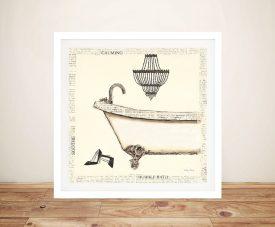 Emily's Boudoir l Bath - Emily Adams Art Prints