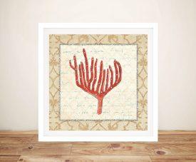 Coral Beauty Light lV - Emily Adams Cheap Prints Online