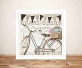 French Flea Market ll - Emily Adams Wall Art Prints