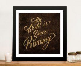 Shoe Fetish Quotes lV - Emily Adams Wall Prints