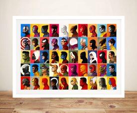 All Marvel Characters Pop Art