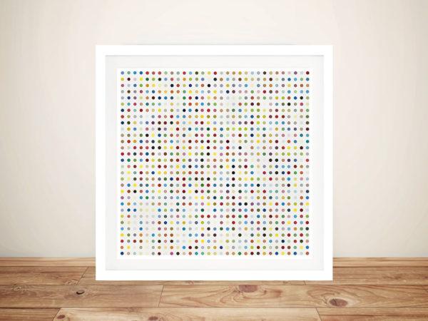 Damien Hirst Dantrolene Framed Wall Art Picture
