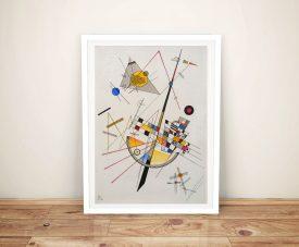 Delicate Tension Kandinsky Modern Art Print