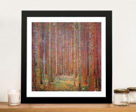 Tannenwald - Gustav Klimt Buy Canvas Art Online