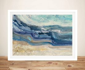Currents - Albena Hristova Canvas Wall Art