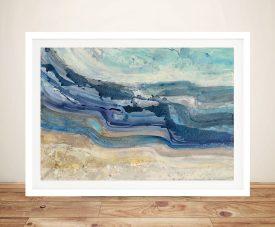 Currents - Albena Hristova Canvas Wall Art