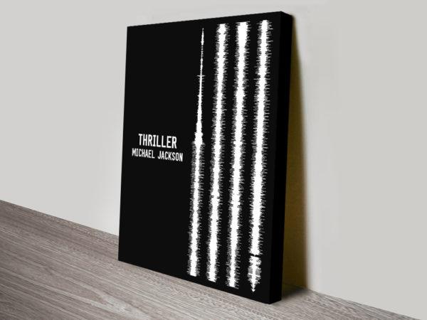 Thriller Soundwave Art Prints Make Great Gifts