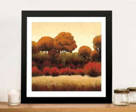 James Wiens - Autumn Forest II Landscape Art For Sale