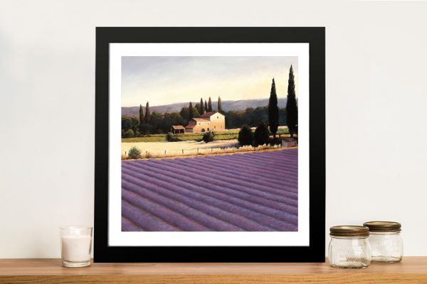 James Wiens - Lavender Fields II Canvas Prints For Sale