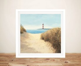 James Wiens - Beach Path Prints On Canvas