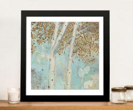 James Wiens - Golden Forest II Canvas Wall Art Prints