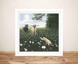 James Wiens - Playful Landscape Prints On Canvas