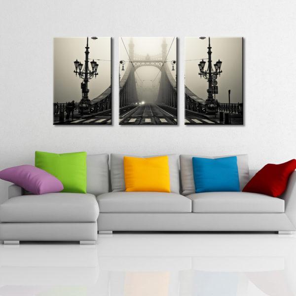The Bridge Triptych Panel Set Great Gift Ideas